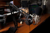Radio studio — Stock Photo