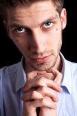 Close-up portrait of man — Stock Photo