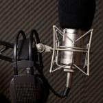 radiostudio — Stockfoto