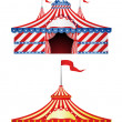 Big Top Circus — Stock Vector