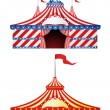 Royalty-Free Stock Vector Image: Big Top Circus