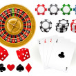 Gambling Goodies — Stock Vector