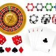 Stock Vector: Gambling Goodies