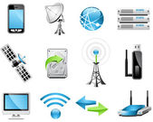Wireless Technology icons — Stock Vector
