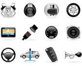 Car options — Stock Vector