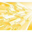 Background with shining star torrent - Image vectorielle