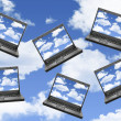 Cloud computing — Stock Photo #5175862