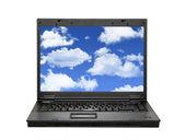 Computação em nuvem — Fotografia Stock