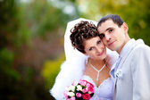 Wedding couple — Stock Photo