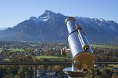 Sightseeing from Hohensalzburg — Stock Photo
