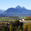 Stock Photo: Landscape of Salzburg in Autumn