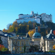 Hohensalzburg castle — Stock Photo