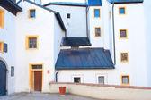 Uvnitř hradu hohensalzburg — Stock fotografie