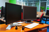 Two monitors — Stock Photo