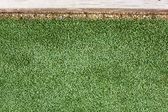 Artificial Grass Installation — Stock Photo