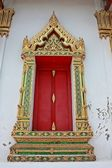 Windows of temple — Stock Photo