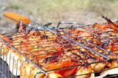 Barbecue, grill. — Stock Photo