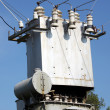The electric transformer — Stock Photo #4205117