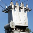 Royalty-Free Stock Photo: The electric transformer