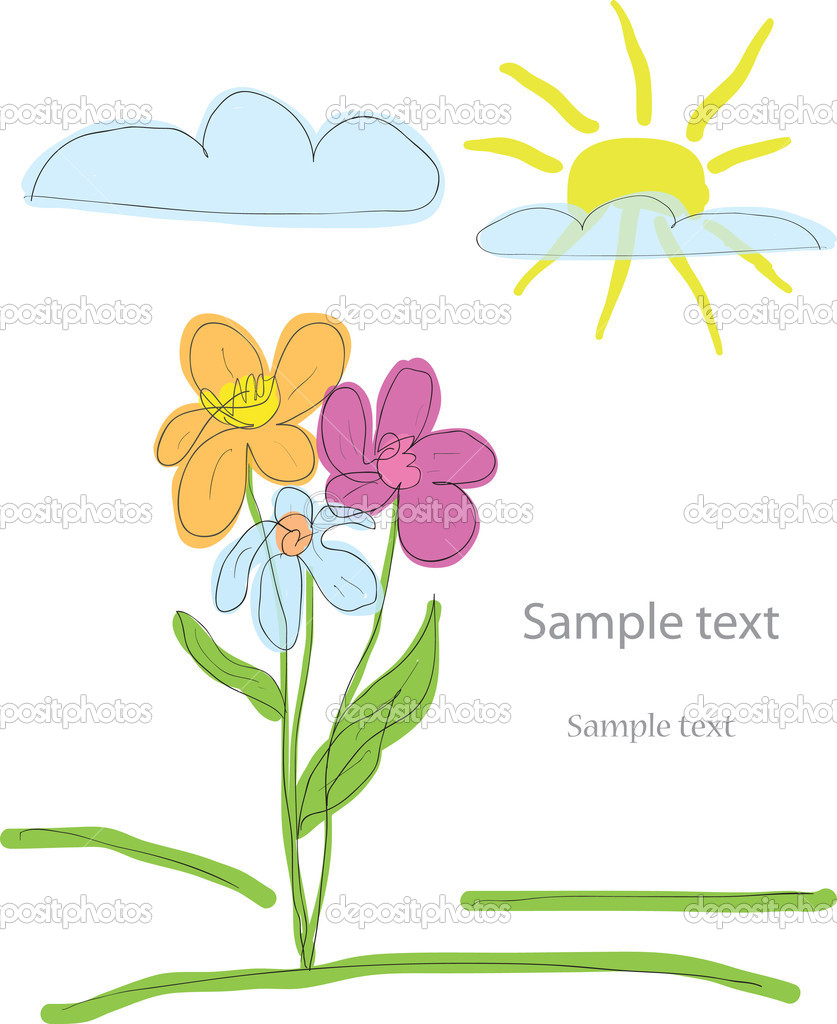 Flowers  — Stock Vector #4423283