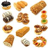 Sada souborů cookie — Stock fotografie