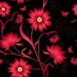 Elegance Seamless color pattern on background, vector illustrati — Stock Photo #4990256