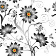 Elegance Seamless color pattern on background, vector illustrati — Foto de Stock   #4990830