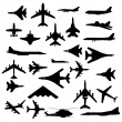Combat aircraft. — Stock Photo
