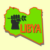 Stop military operations in Libya. — Stock Photo
