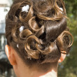 Wedding hair style — Stock Photo #3960871