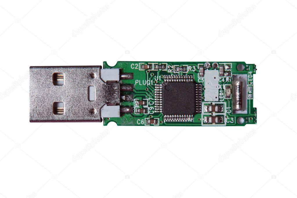 Usb Flash Drive Circuit Stock Photo 169 Werny43 4419527