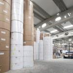 Industrial printing premise — Stock Photo
