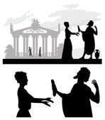 Ancient Greece — Stock Vector