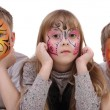 Children bodyart — Stock Photo