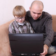father son — Stock Photo