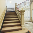 Victorian staircase — Stock Photo