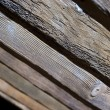 Original wooden beam — Stock Photo