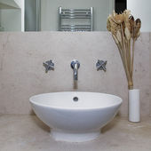 Designer hand wash basin — Stockfoto