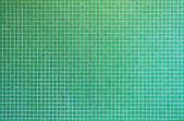 Green mosaic tile texture — Stock Photo