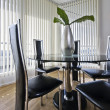 Stock Photo: Contemporary dining area