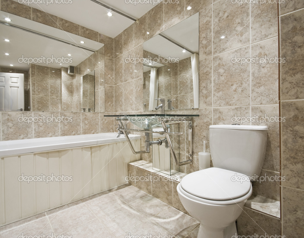 Designer bathroom stock photo jrphoto 5202215 for Bathroom designs 2015