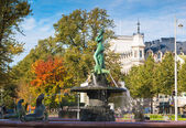 Fountain Havis Amanda in Helsinki — Stock Photo