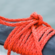 Fastened a rope — Stock Photo