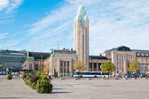Railway station in Helsinki. Finland — Stock Photo
