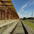Stock Photo: Old railway station