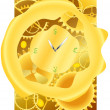 Time is money — Vector de stock