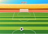 Soccer stadium — Stock Vector