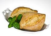 Ciabatta bread rolls — Stock Photo