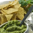 Guacamole and nachos — Stock Photo #5173191