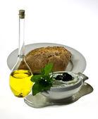 Traditional Greek dip tzatziki — Stock Photo